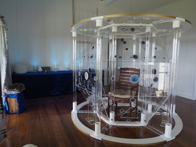 The Teslas Light Chamber by Christopher Lewin