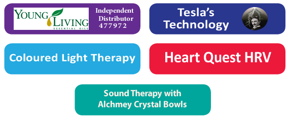 Core 5 Young Living Teslas Heart Quest Lumalights Crystal Bowl