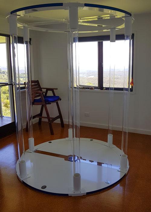 Teslas Personal Vortex Chamber