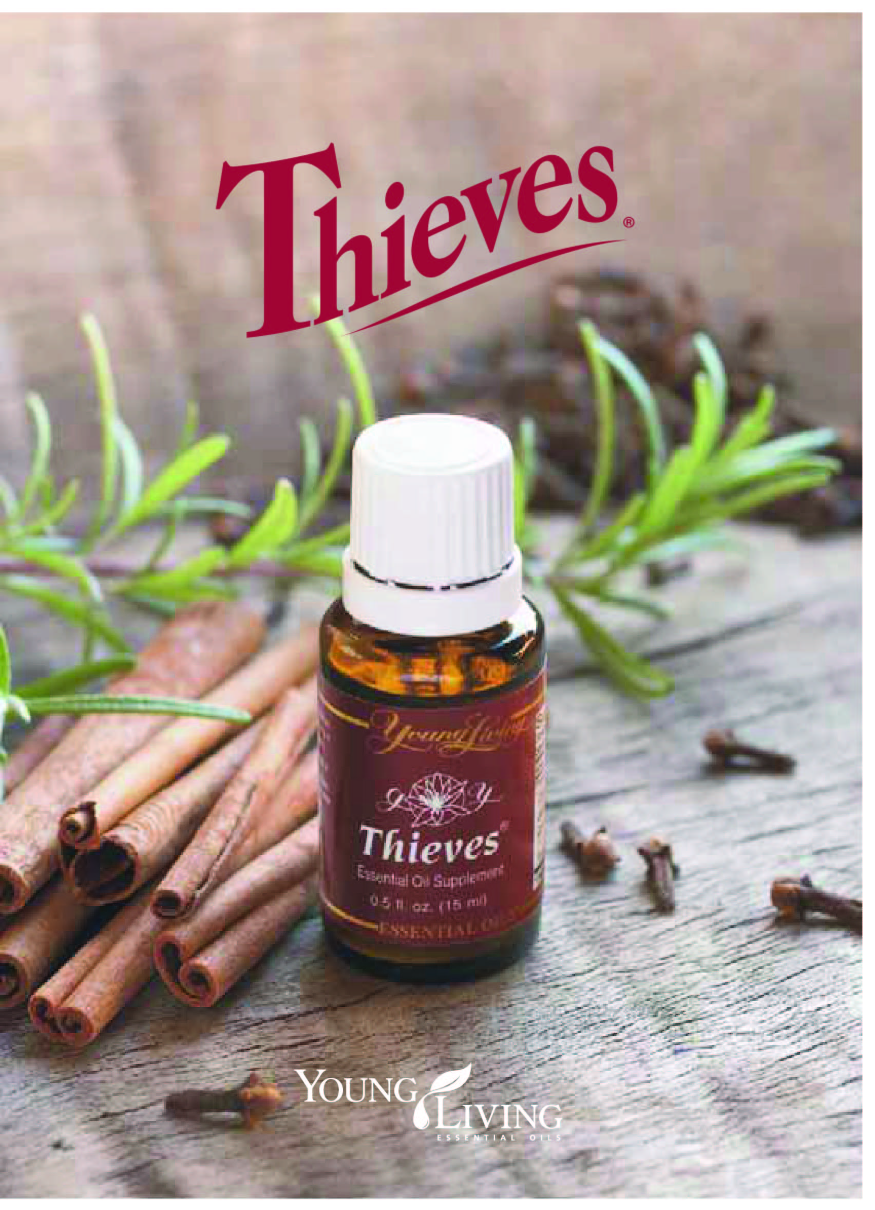 Theives Essential Oil Blend by Young Living
